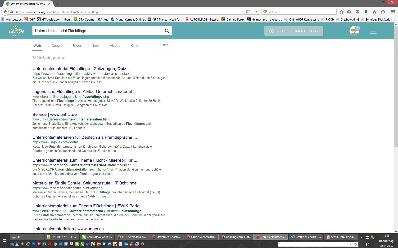 Gestatten Ecosia -  die Suchmaschine gegen das schlechte Gewissen 1