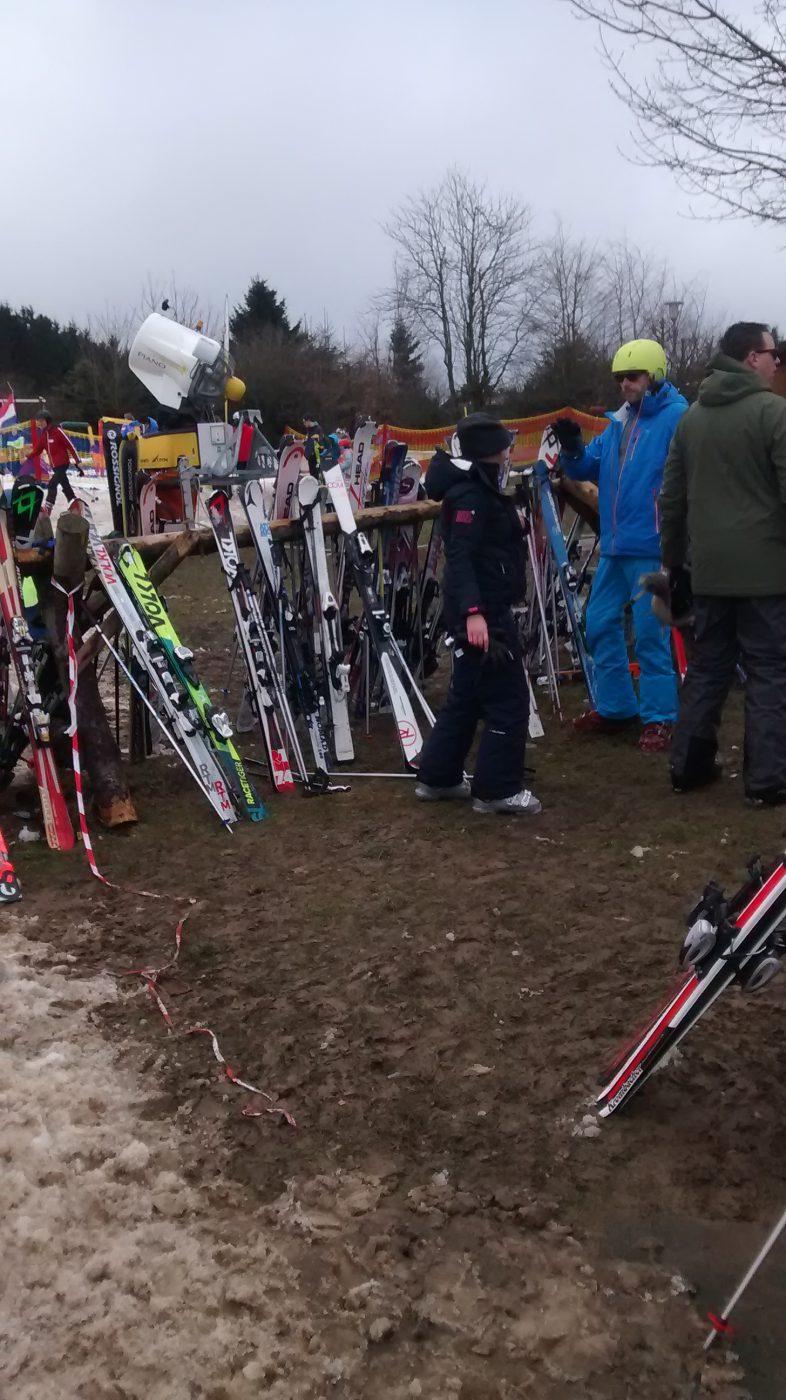 Ski fahren die Zweite 1