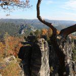 Indian Summer am Rande von Deutschland - Wandern auf dem Malerweg 1