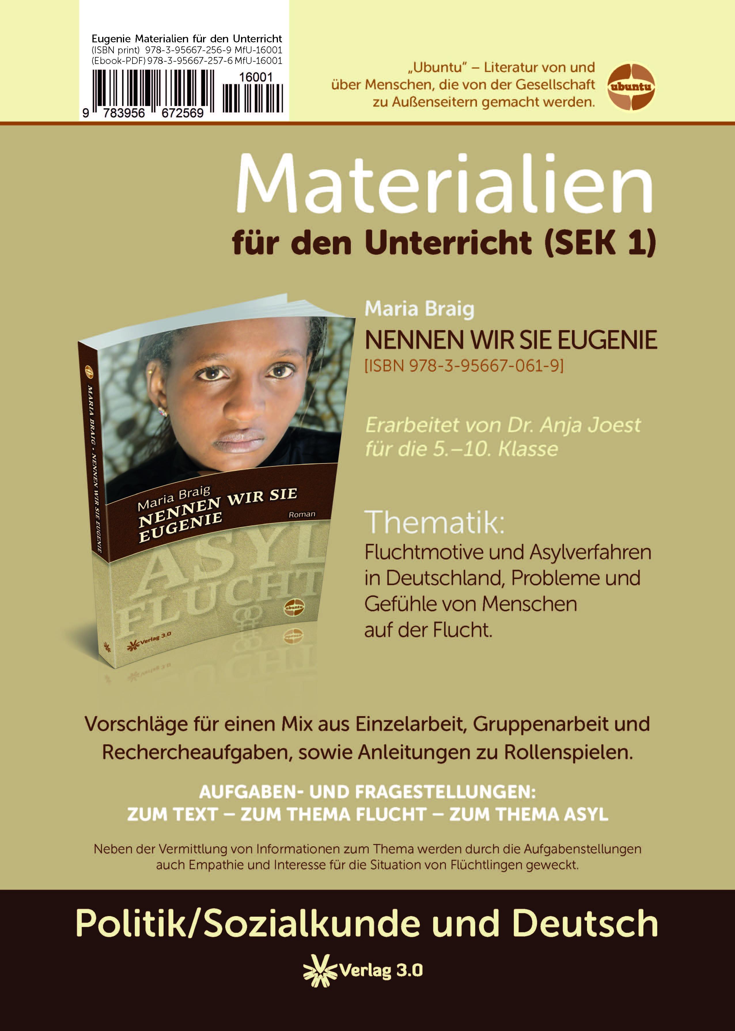 """Interview zum Unterrichtsmaterial """"Nennen wir sie Eugenie"""" 1"""