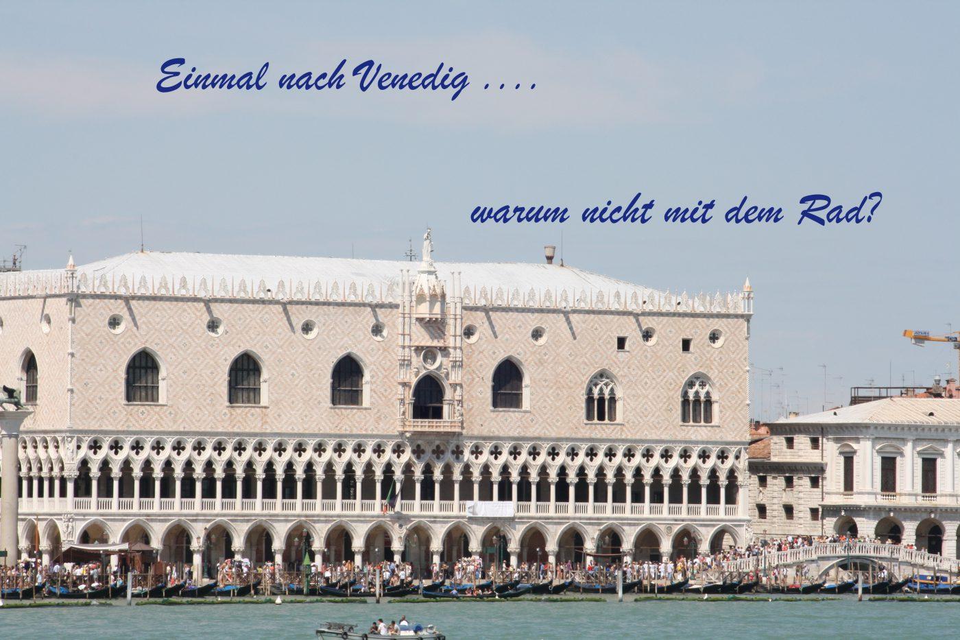 Vom Brenner nach Venedig, mit dem Rad 1. Teil - Das fliegende Klassenzimmer