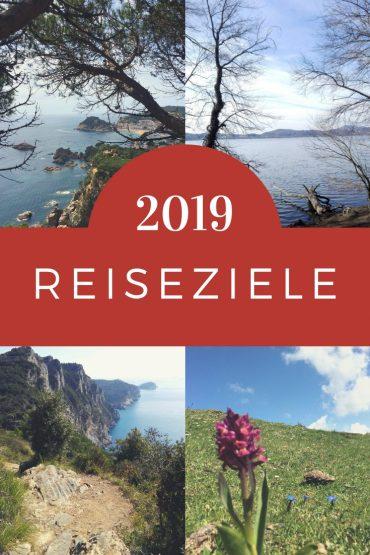Reiseziele 2019