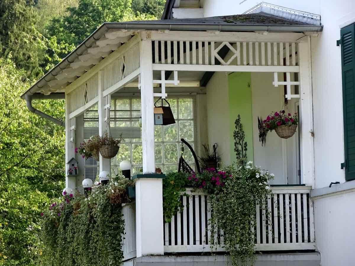Alter Balkon in Ründeroth