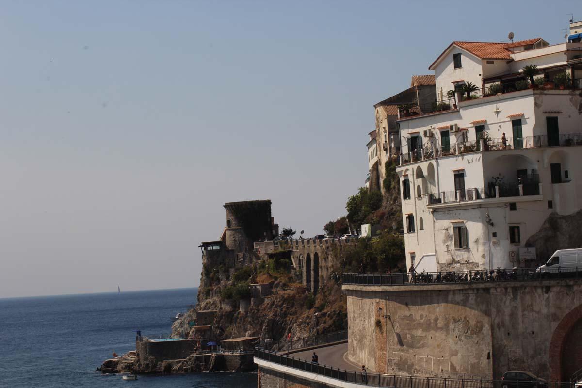 Mit dem Fahrrad kreuz und quer durch Italien - Die Amalfi Küste und der Golf von Neapel 9