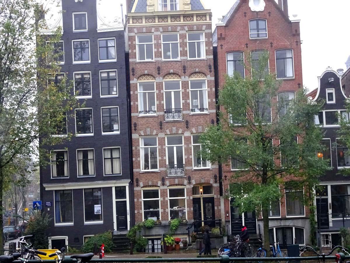Straßenansicht Grachtenviertel