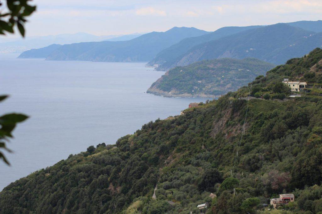 Küstenstreifen Cinque terre