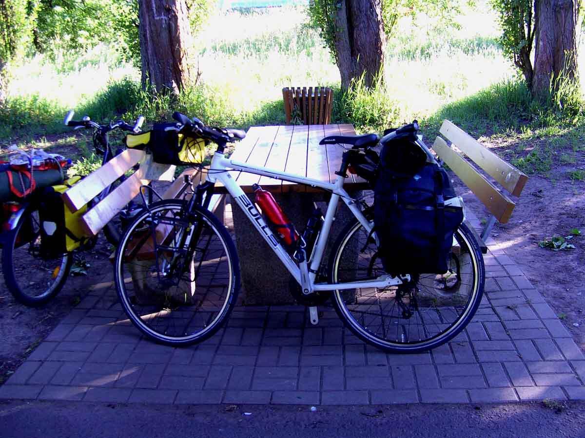 Der Moselradweg - Eine Mutter - Kindtour 1