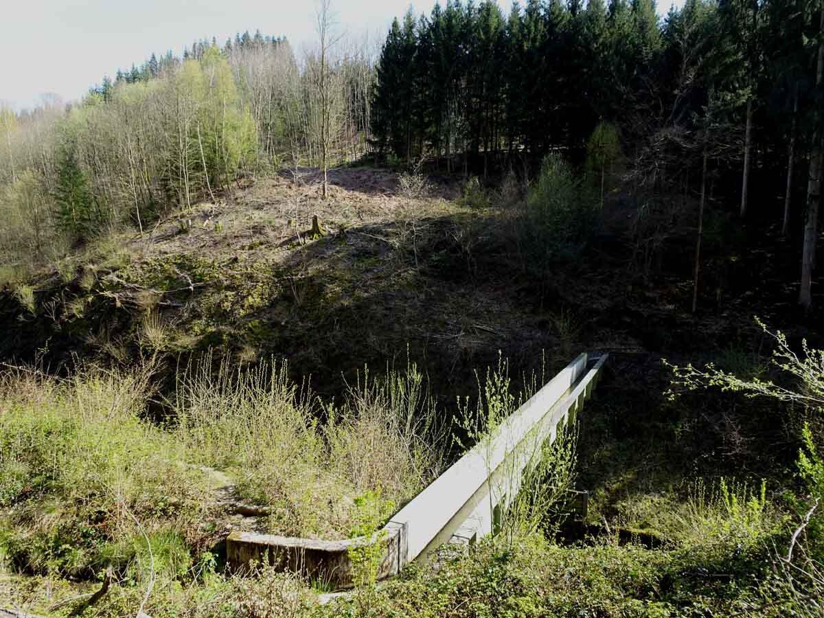 Bergbauweg Bachbrücke