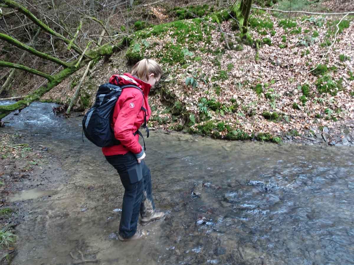 Abenteuerwanderung mit zwei Bachquerungen 5