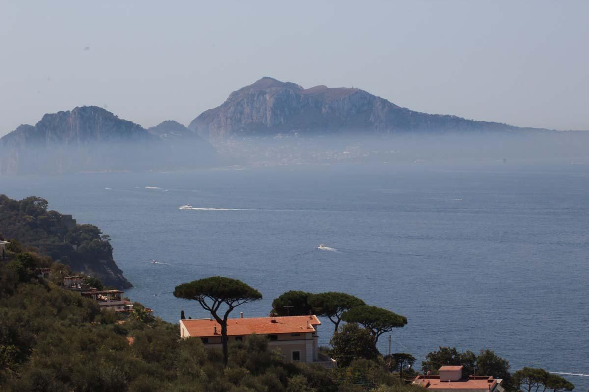Mit dem Fahrrad an der Amalfi Küste
