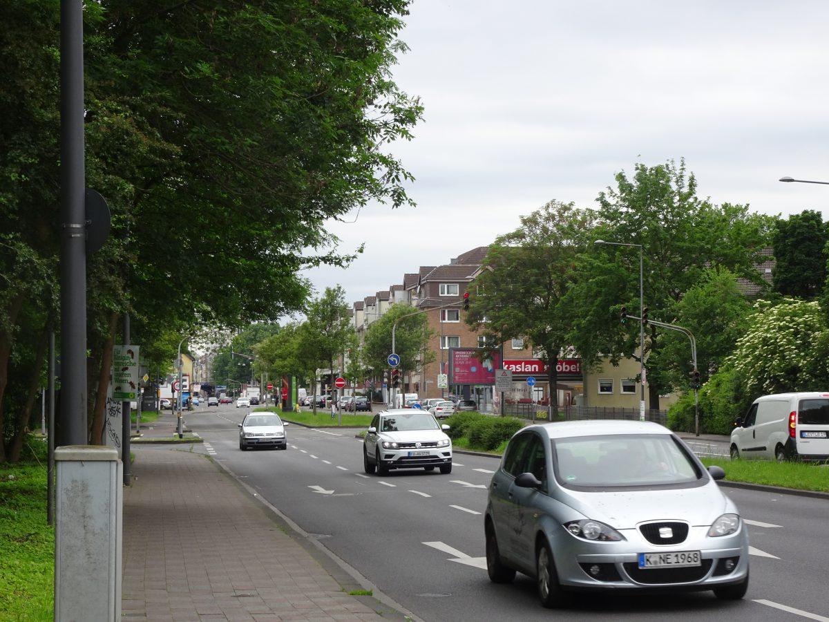 Radfahren in der  grünen Seele Kölns 4