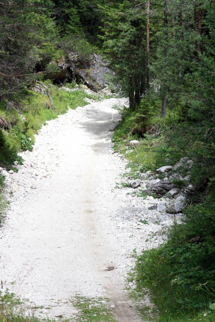 Dolomitenradweg Weg zum Pass 2