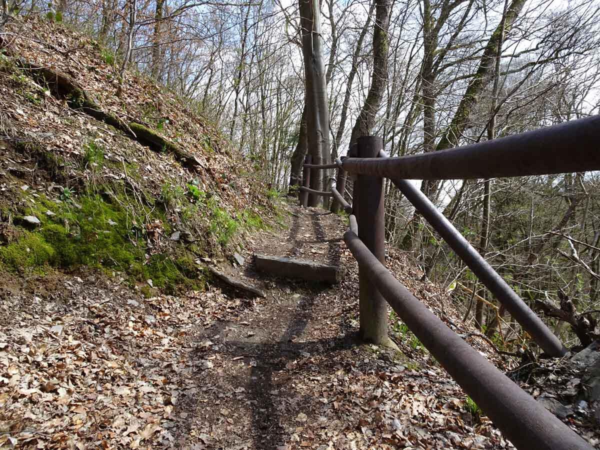 Rundwanderweg Limbach Klamm Einstieg in die Limbach Klamm