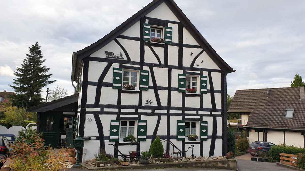 Fachwerk in Menzingen