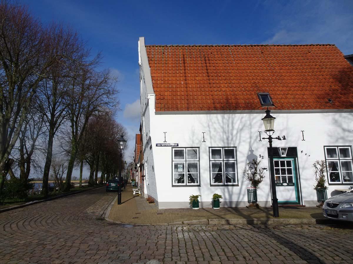 Friedrichstadt schiefes Haus