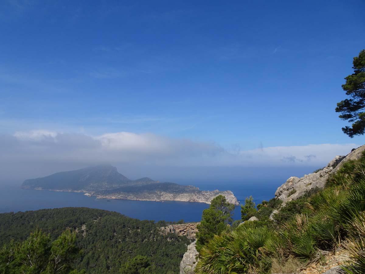 GR 221 Blick auf Insel