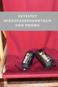 Getestet: Das Mikrofaserhandtuch von Prowx