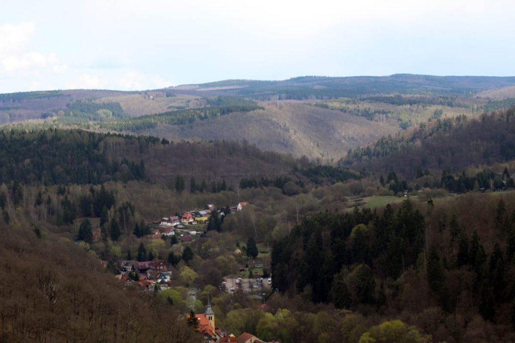 Hexenstieg Blick auf Altenbrak