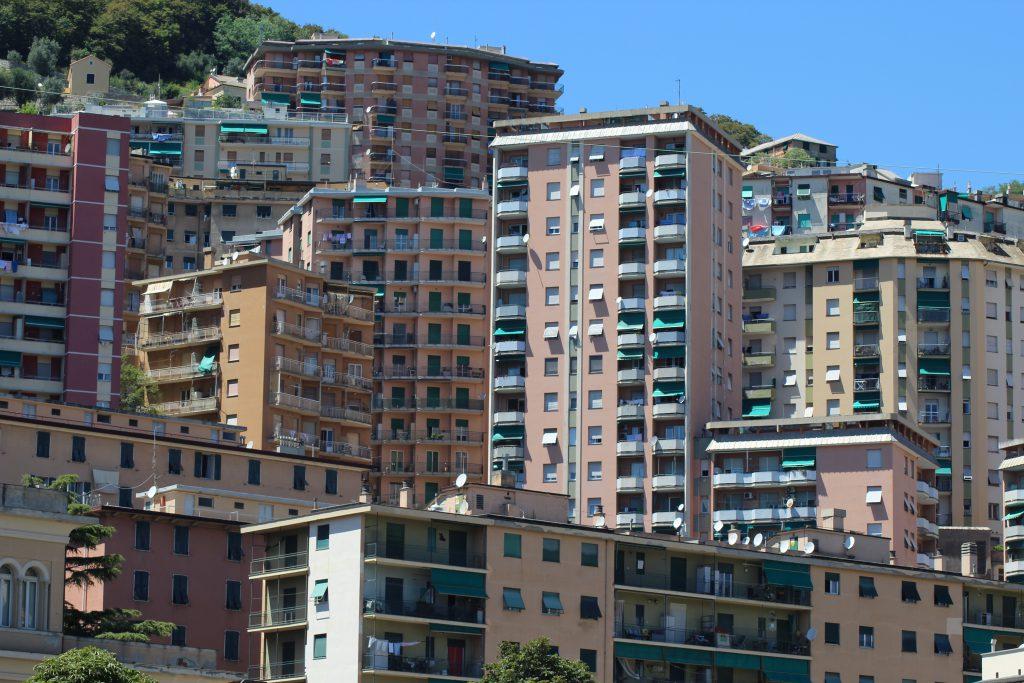 Außenbezirke Genua