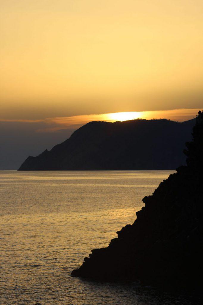 Sonnenuntergang Riviera