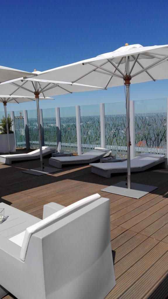 Dachterrasse Atlantic Hotel