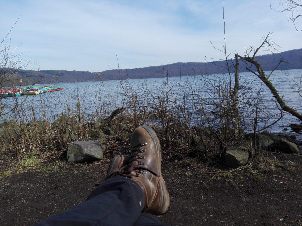 Rund um den Laacher See auf dem Geopfad 1