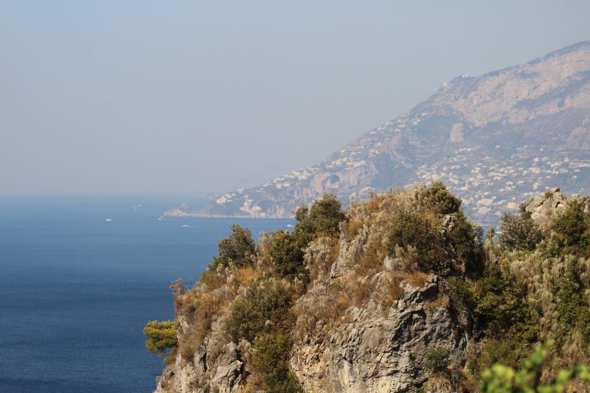 Mit dem Fahrrad kreuz und quer durch Italien - Die Amalfi Küste und der Golf von Neapel 1