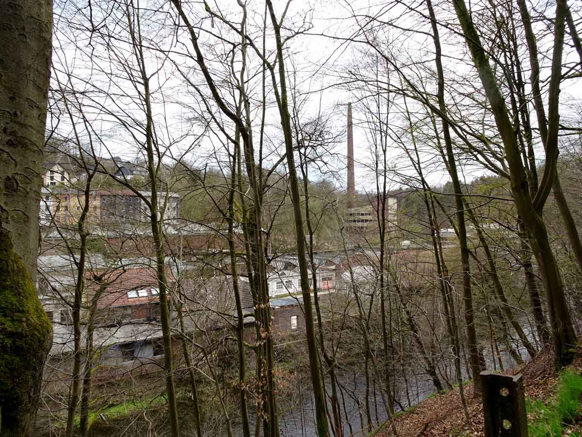 Industrieanlage in Dalerau