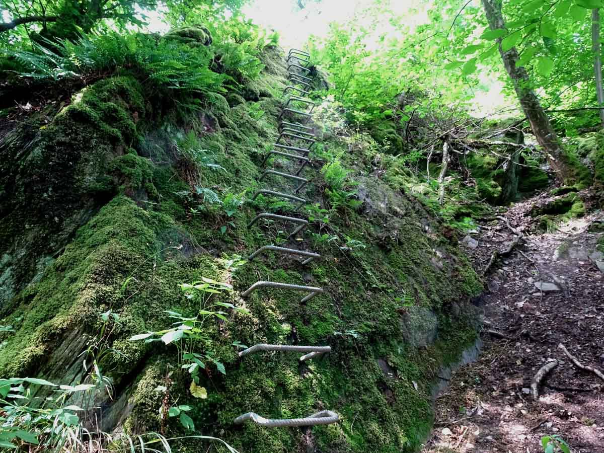 Klettersteig Traumschleife Layensteig