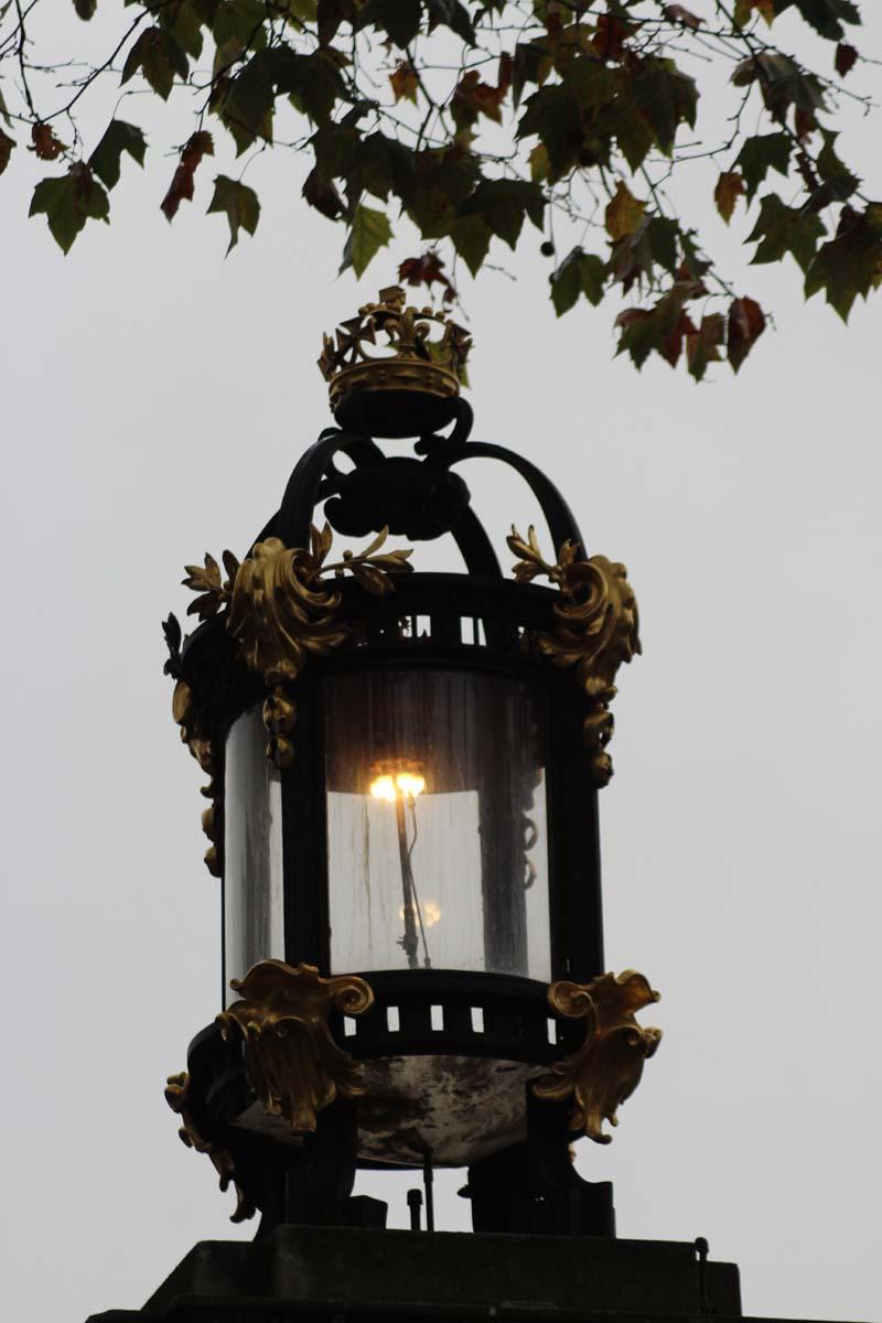 Laterne Buckingham Palace