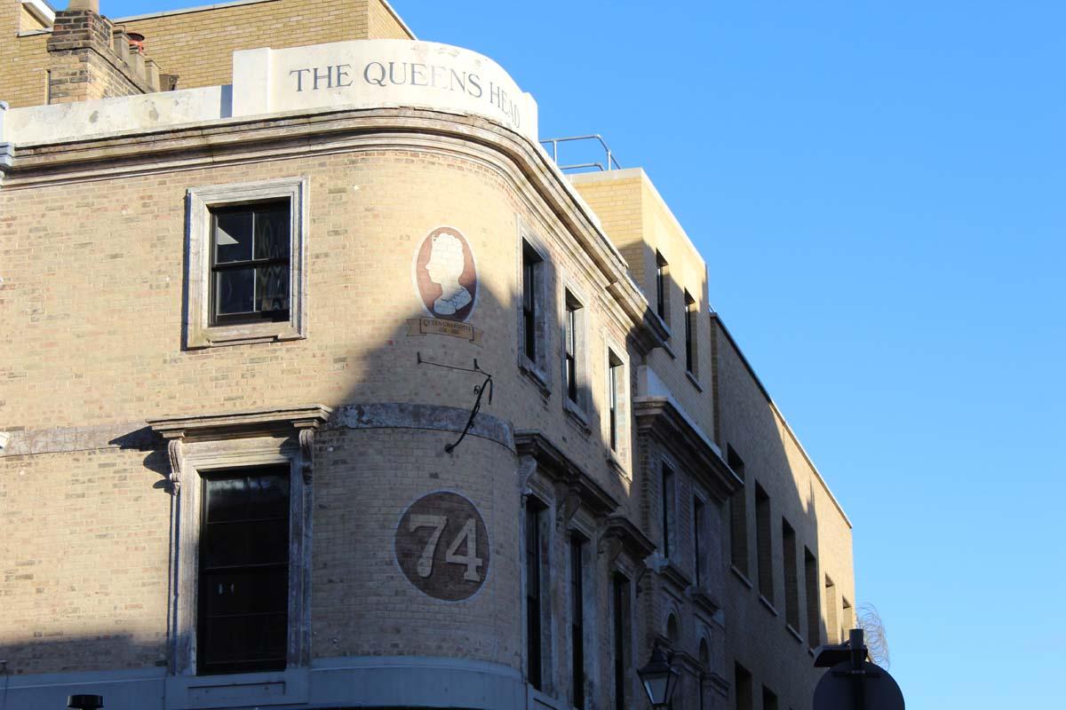 London East End Straße