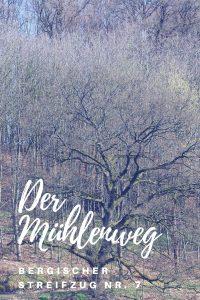 Weihnachtswanderung auf dem Mühlenweg #Bergischer Streifzug Nr. 7