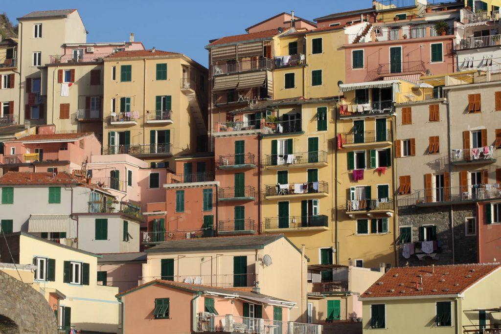 Von Mailand nach Pisa mit dem Rad Stadtansicht Manarola