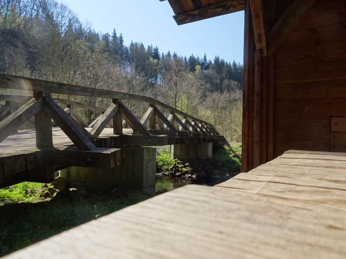 Mehrtagestour auf dem Lieserpfad Schutzhütte