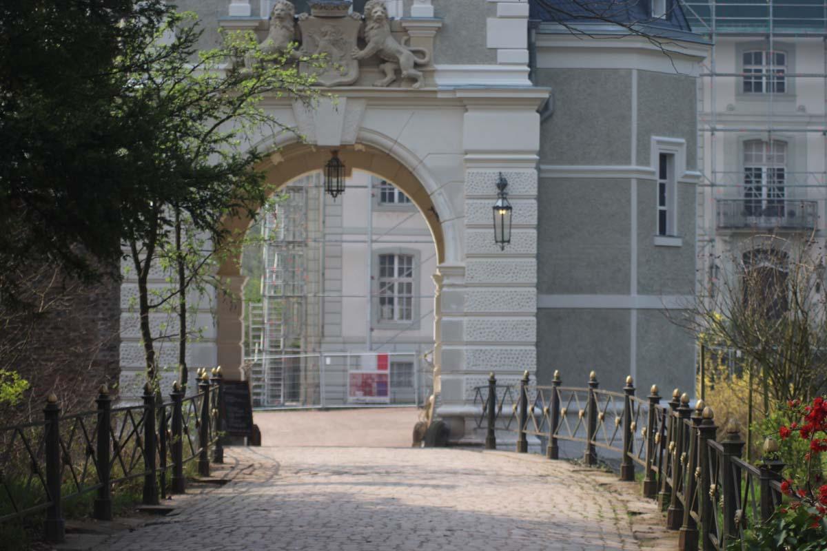 Radtour im Südwesten von Köln Schloss Türnich