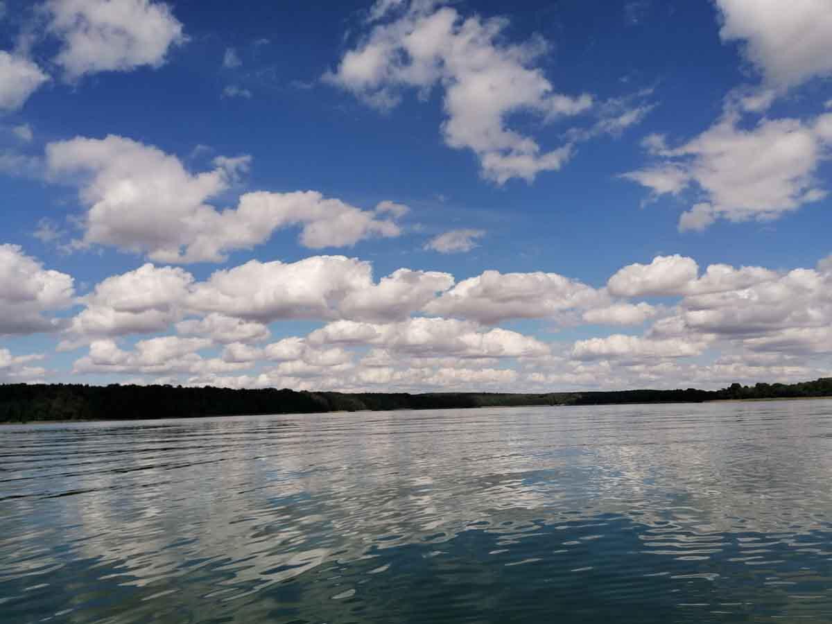 Radreise Mecklenburgische Seenplatte See