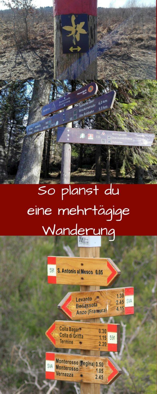 So planst du eine mehrtägige Wanderung
