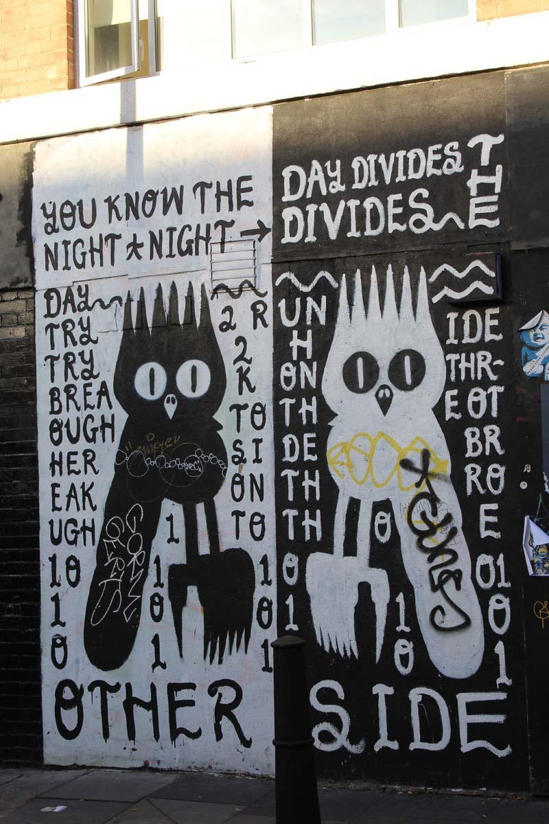 Das Londoner East End Street Art