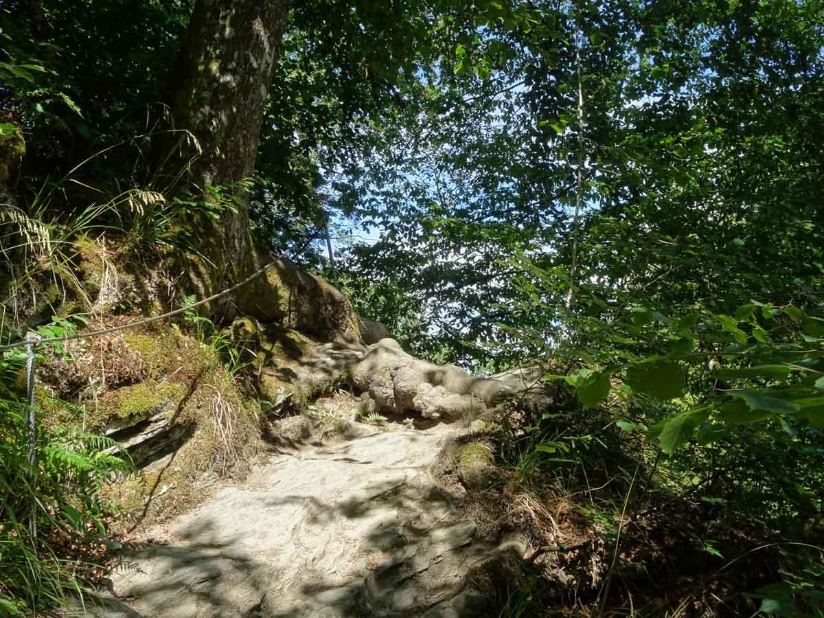 Wanderung durch die wildromantische Baybachklamm 1