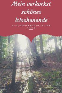 Mein verkorkst schönes Wochenende beim Bloggerwandern in der Pfalz