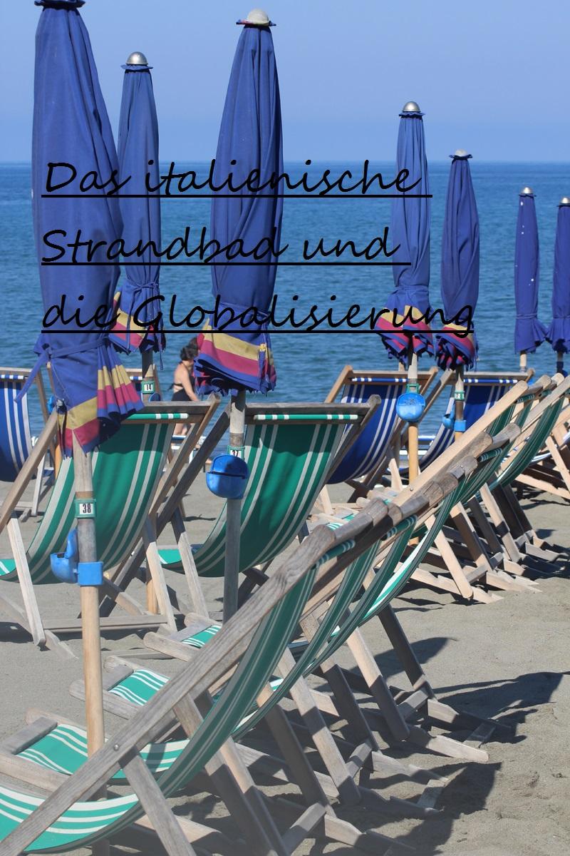 Das italienische Strandbad und die Globalisierung 1