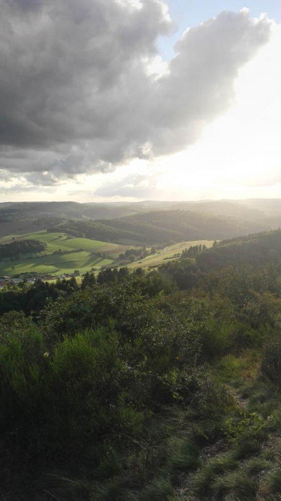 Trekking in der Pfalz Landschaft