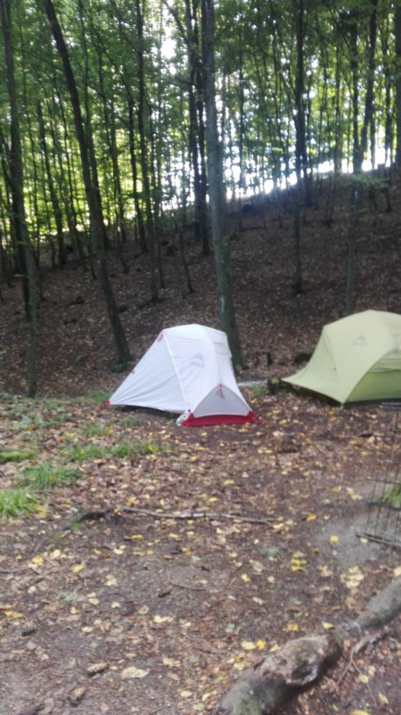 Trekkingplatz Pfalz Zelte