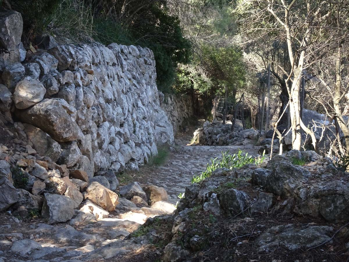 Trockenmauerweg