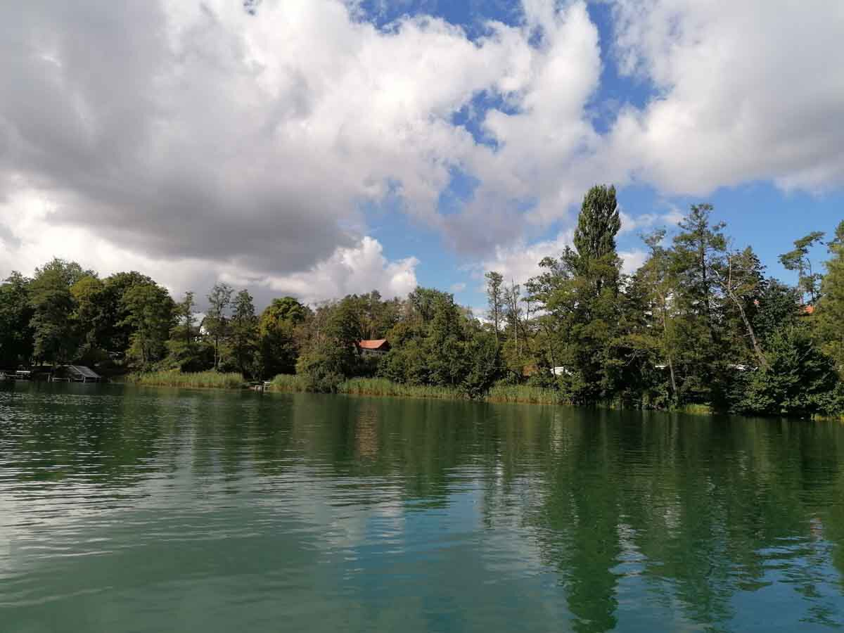 Radreise Mecklenburgische Seenplatte Ufer