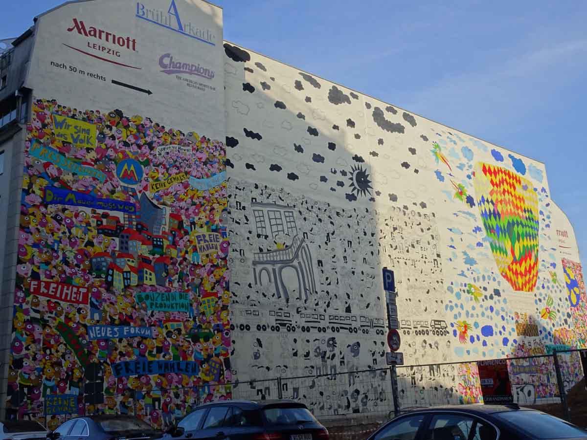 Stadtführung 30 Jahre friedliche Revolution in Leipzig 1