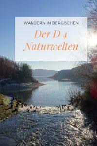 Wandern im Bergischen: Der D 4 Naturwelten