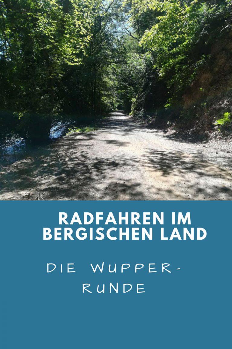 Radfahren im Bergischen Land: Die Wupper Runde