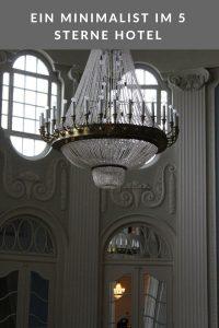 Ein Minimalist im 5 Sterne Hotel Atlantic in Travemünde