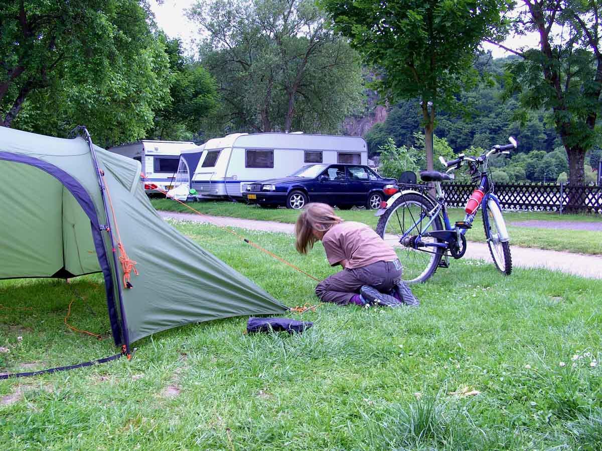 Der Moselradweg - Eine Mutter - Kindtour 6
